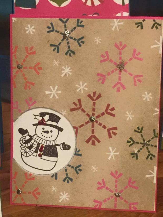 Snowman1card