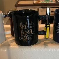 CC coffee mugs