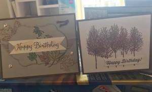 SU Birthday Cards